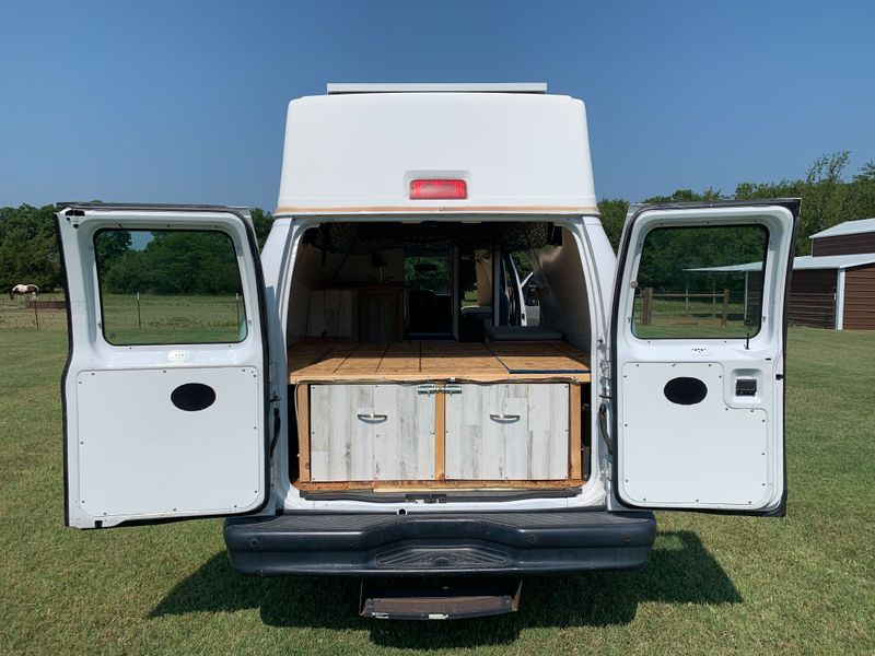 Picture 1/23 of a Fully Converted 2011 Ford E350 for sale in Whitesboro, Texas