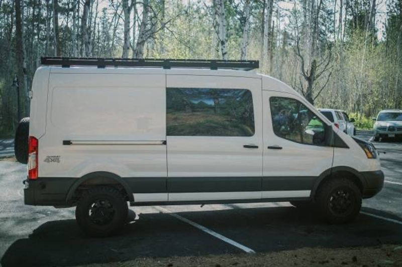 Picture 3/15 of a 2019 Ford Transit MR Quigley 4x4 Adventure Van for sale in Bend, Oregon