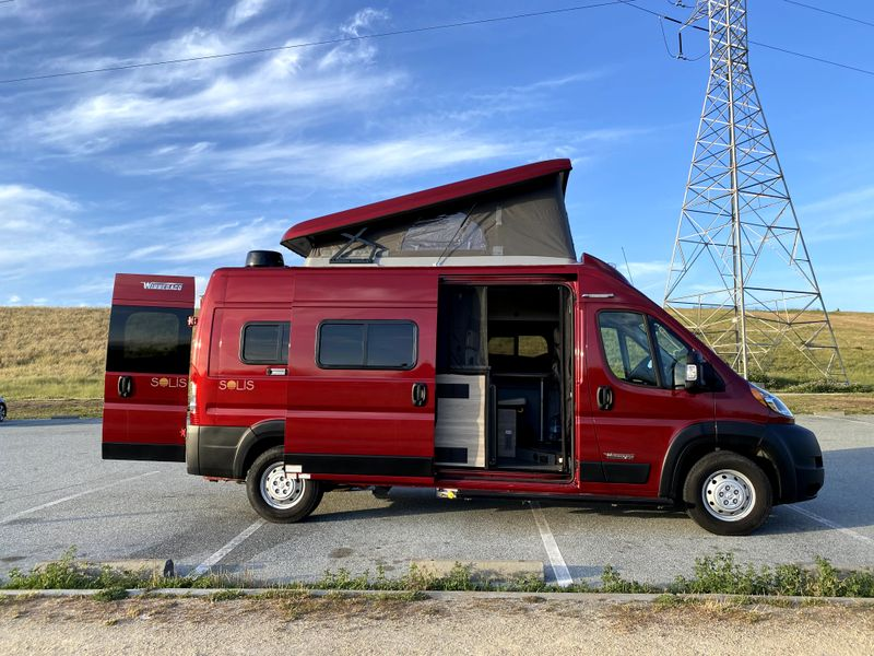 Picture 4/42 of a 2021 Winnebago Solis 59P w/ WIFI/4G for sale in San Mateo, California