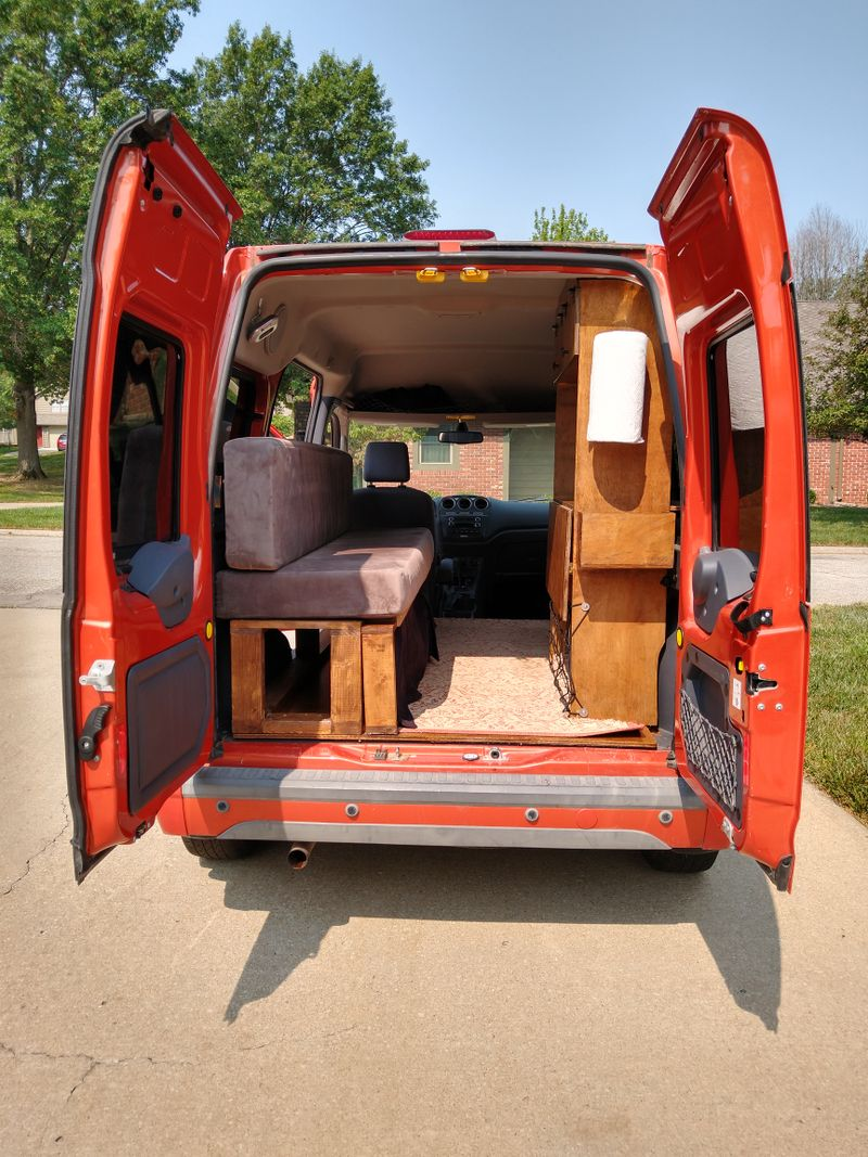 Picture 5/17 of a Ford Transit Connect Premium XLT Camper for sale in Lawrence, Kansas