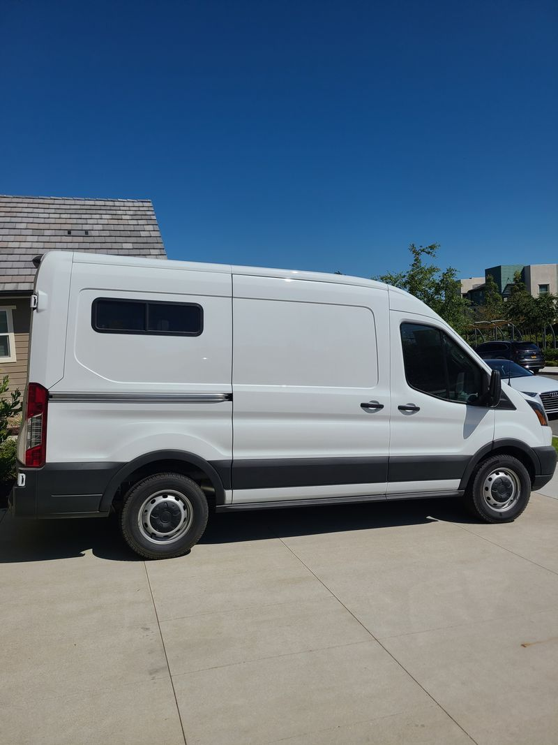 Picture 1/8 of a 2019 Medium Roof Ford Transit 130WB for sale in Big Bear Lake, California