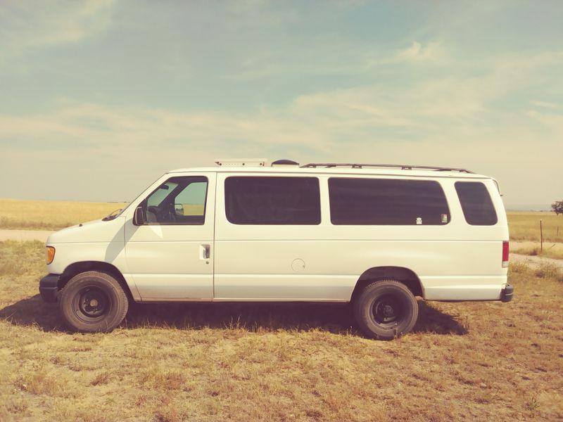 Picture 5/13 of a 1999 ford cargo conversion van for sale in Colorado Springs, Colorado
