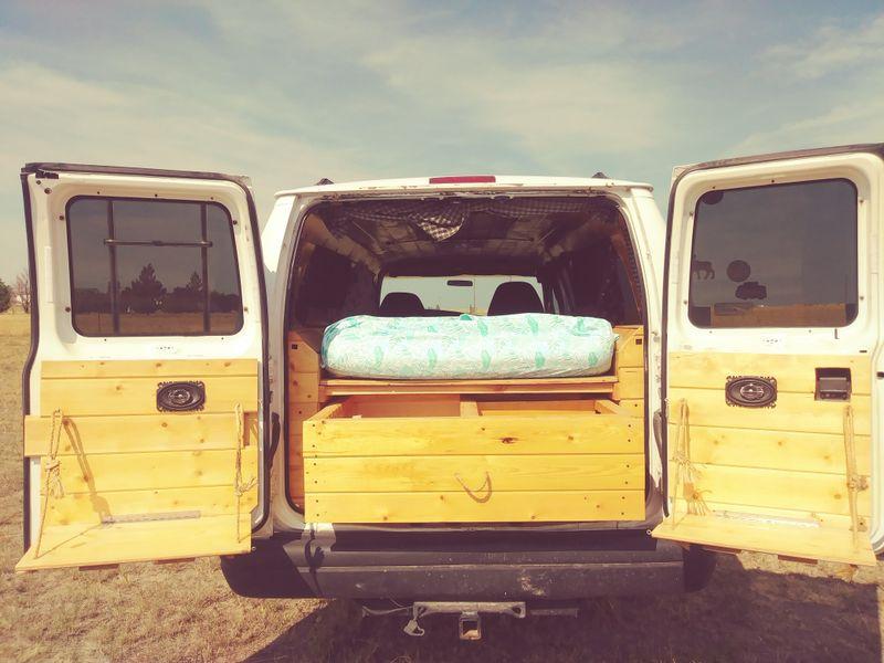 Picture 3/13 of a 1999 ford cargo conversion van for sale in Colorado Springs, Colorado