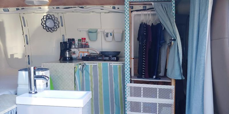 Picture 5/12 of a Solar conversion van for sale in New Smyrna Beach, Florida