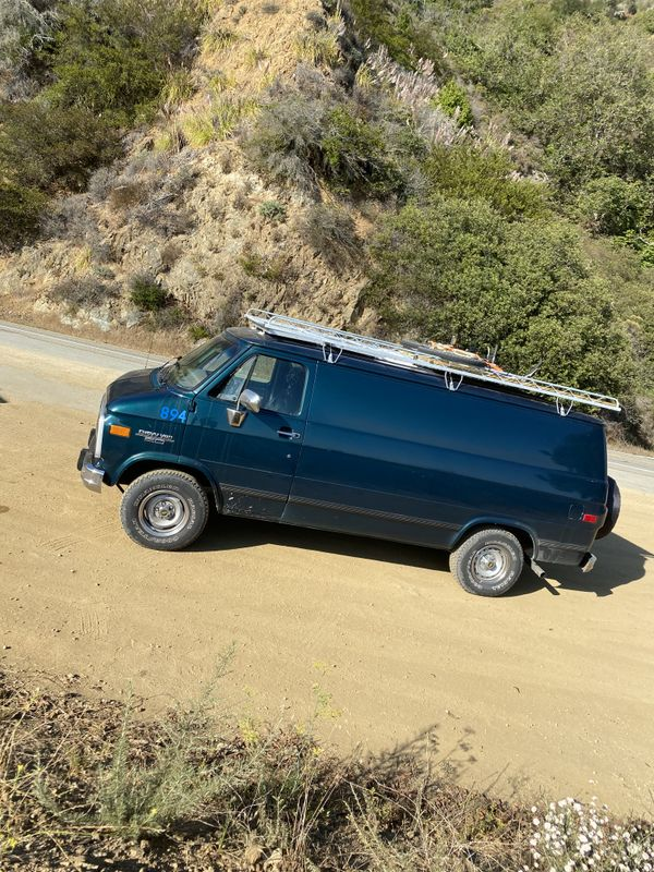 Photo of a campervan for sale: (SOLD) 1994 Chevy G20 fully converted camper van