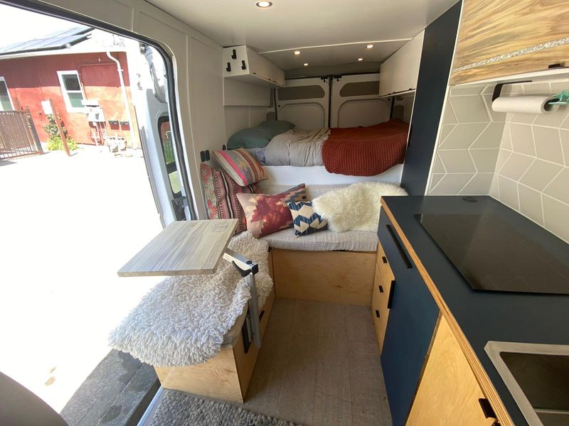 Picture 6/6 of a Promaster 2019 fully loaded off grid unique design glamper for sale in Oakland, California