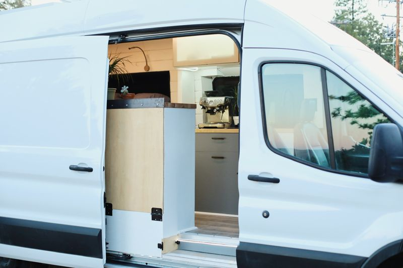 Picture 4/19 of a 2019 Ford Transit 250 High Roof with Warranty  for sale in Sacramento, California