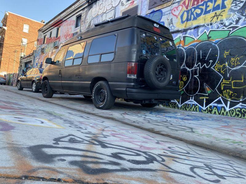 Picture 2/53 of a 2003 Ford Econoline E150 offgrid Camper Van for sale in Philadelphia, Pennsylvania