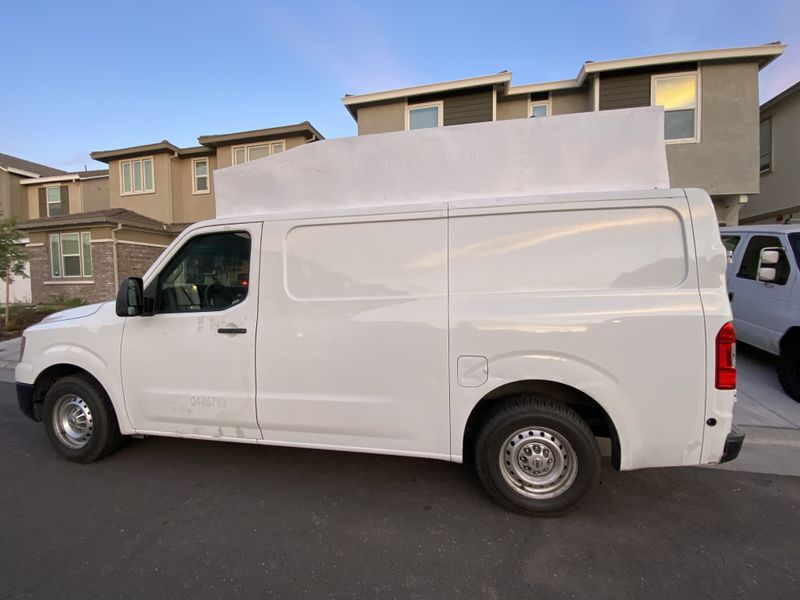 Picture 1/15 of a Nissan NV1500 camper van for sale for sale in Rocklin, California