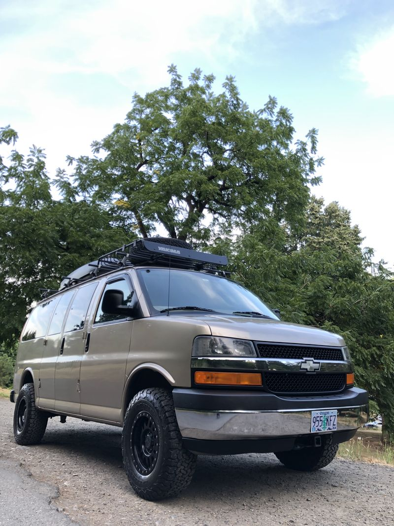 Picture 1/21 of a 2005 AWD Chevrolet Express Adventure Van for sale in Portland, Oregon