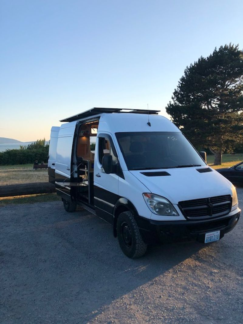 """Picture 2/24 of a 2008 Sprinter 144"""" / 2020 Conversion  for sale in Bellingham, Washington"""