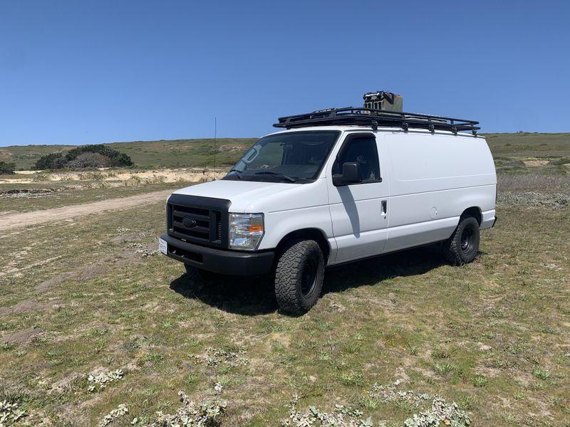 Picture 3/22 of a Ford E250 Surf/MTB Camper for sale in Santa Cruz, California
