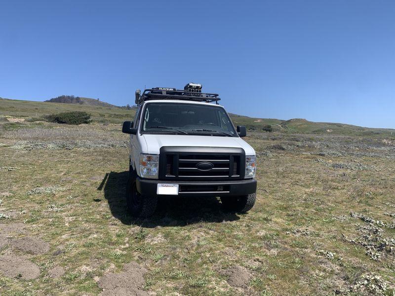 Picture 2/22 of a Ford E250 Surf/MTB Camper for sale in Santa Cruz, California