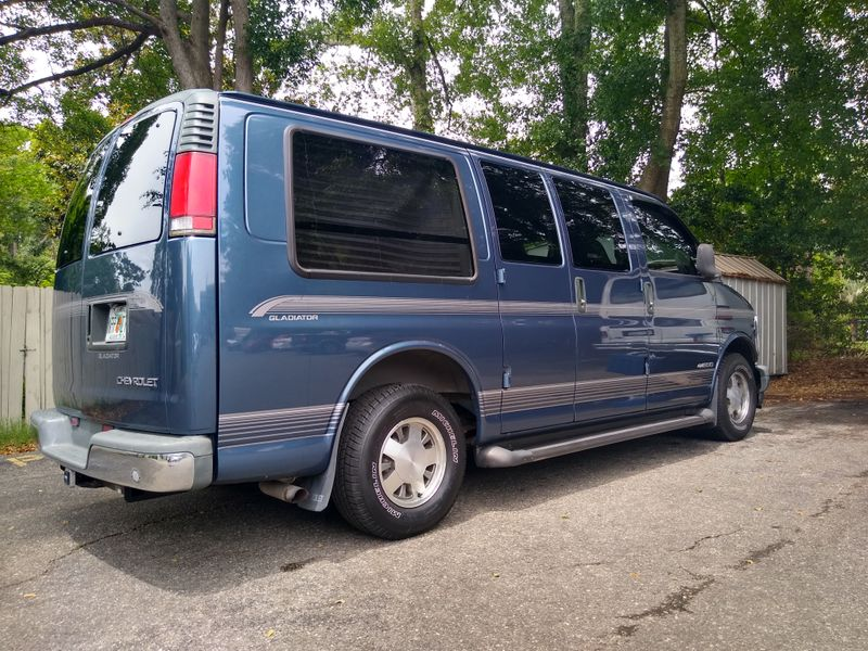 Picture 3/25 of a 1998 Chevy Express 1500 Conversion Van (sleeper) for sale in Tallahassee, Florida