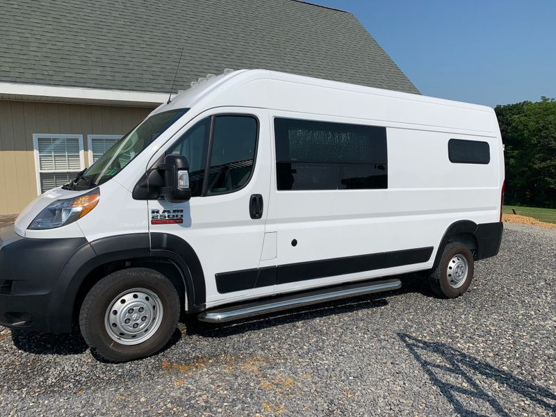 """Picture 4/27 of a 2019 Promaster 2500 159"""" High Roof van """"Jack"""" for sale in Millerstown, Pennsylvania"""