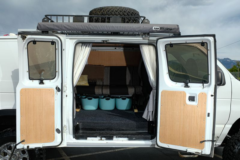 Picture 2/13 of a 1999 Ford E-250 4x4 Adventure Van for sale in Salt Lake City, Utah