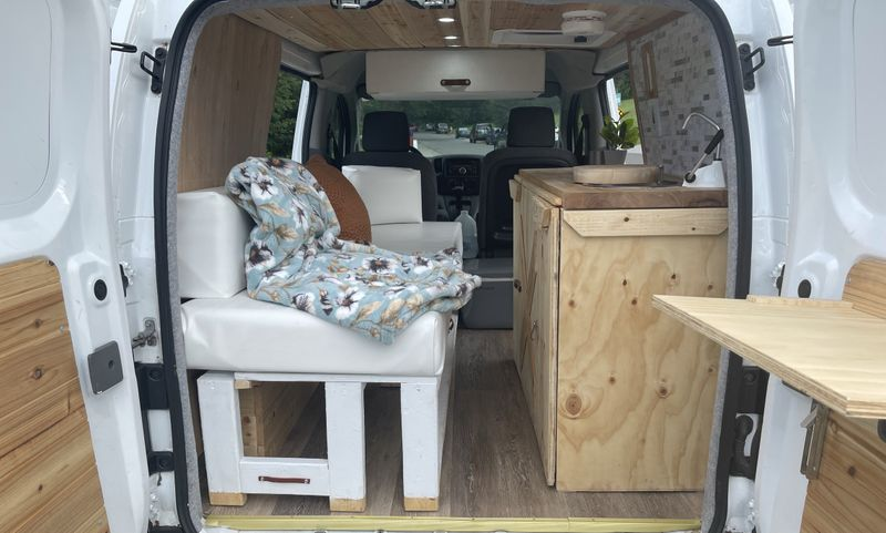 Picture 2/8 of a Nissan NV200 Van Conversion (Mobile & Quiet) for sale in Haverhill, Massachusetts