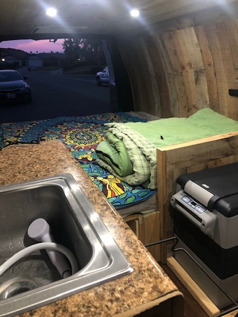 Picture 4/6 of a 2019 Chevy Express Camper for sale in Bakersfield, California