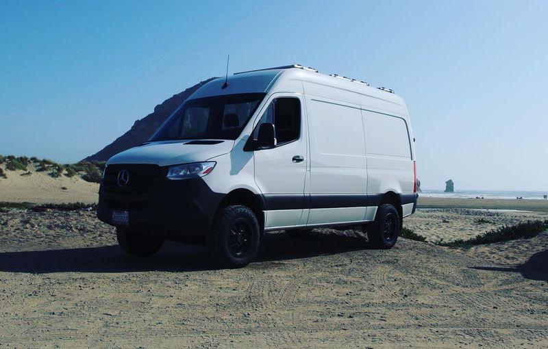 Picture 2/18 of a 4X4 Sprinter Stealth Camper Conversion for sale in San Luis Obispo, California