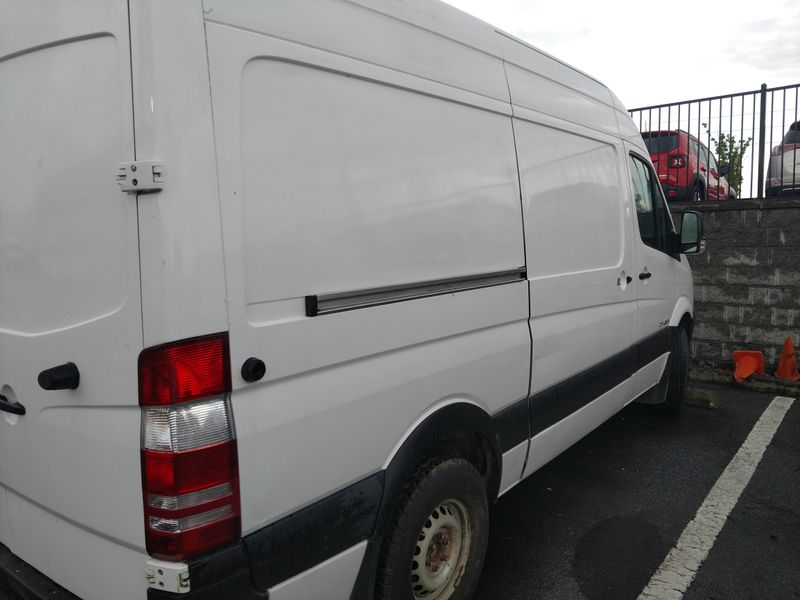 Picture 3/12 of a Custom High-Top 2007 Sprinter van with solar for sale in Birmingham, Alabama