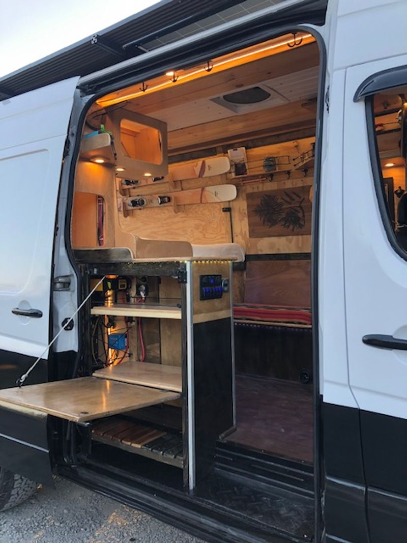 """Picture 3/24 of a 2008 Sprinter 144"""" / 2020 Conversion  for sale in Bellingham, Washington"""