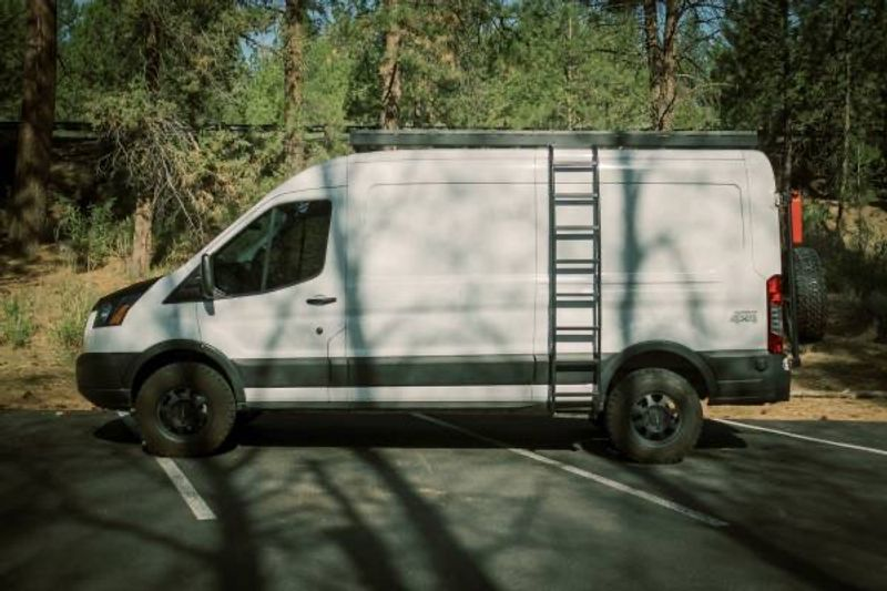 Picture 4/15 of a 2019 Ford Transit MR Quigley 4x4 Adventure Van for sale in Bend, Oregon