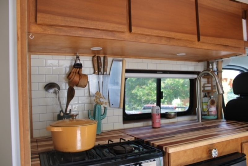 Picture 3/18 of a Custom 2018 Dodge Ram Promaster 1500, high roof, 159 WB for sale in San Diego, California