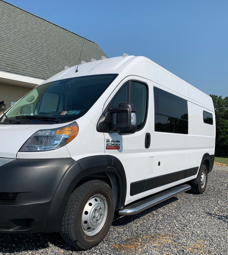 """Picture 3/27 of a 2019 Promaster 2500 159"""" High Roof van """"Jack"""" for sale in Millerstown, Pennsylvania"""