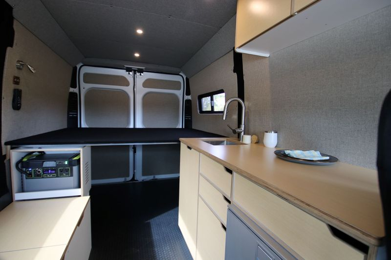 """Picture 1/13 of a The Vansmith- 136"""" Ram Promaster Conversion for sale in Boulder, Colorado"""