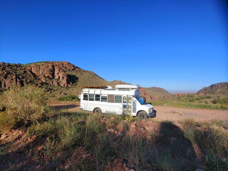 Picture 1/5 of a 2001 Chevy Minibus Conversion, $21k for sale in Alma, Colorado