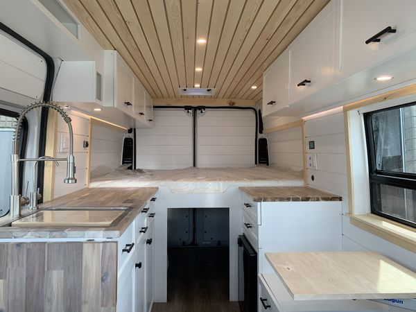Photo of a campervan for sale: Beautiful New Conversion in a 2014 Promaster