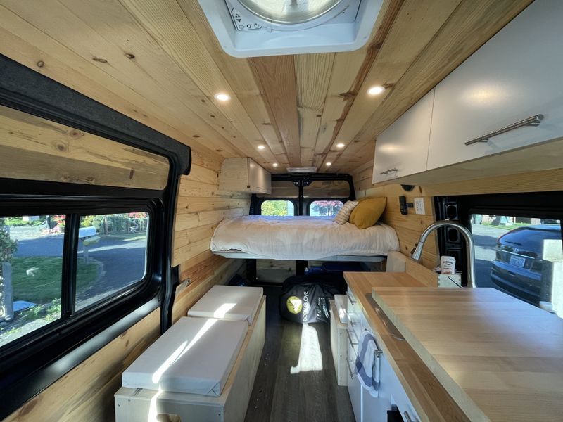 Picture 2/13 of a 2020 Ram Promaster Conversion Camper Van for sale in Bellingham, Washington