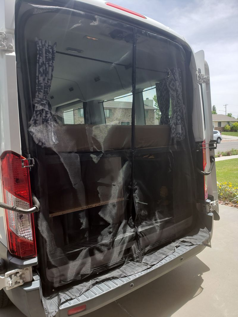 Picture 5/8 of a 2015 Ford Transit 350 medium roof for sale in Grand Junction, Colorado