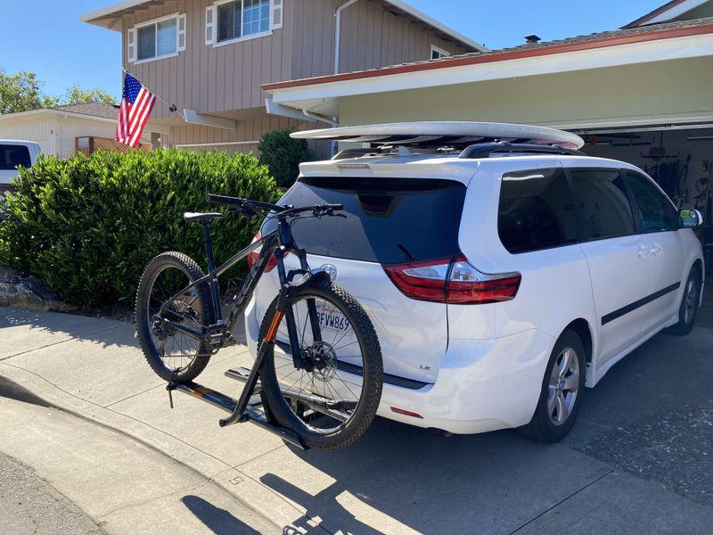 Picture 1/9 of a 2018 Toyota Sienna Camper Van/Modular/Stealth for sale in Santa Cruz, California