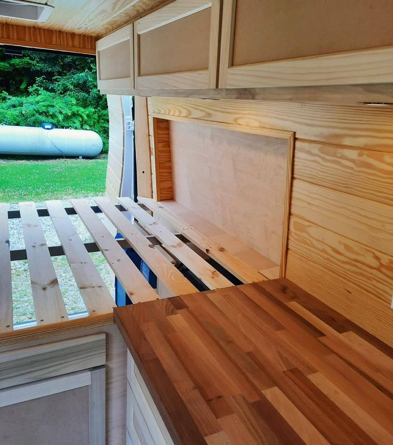 """Picture 4/8 of a 2021 Promaster 159"""" Professionally Built for sale in Boone, North Carolina"""