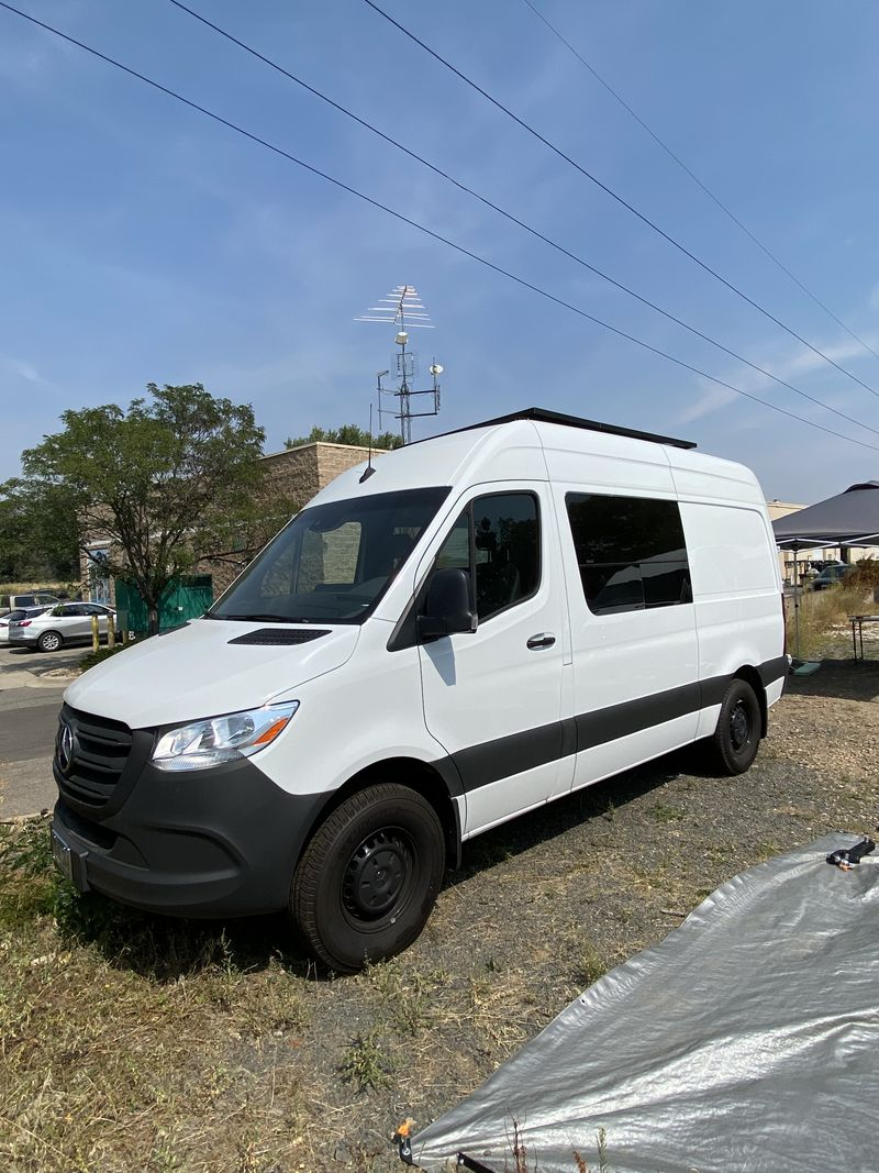 """Picture 1/9 of a 2020 Mercedes Sprinter 144"""" WB DIY Ready for sale in Denver, Colorado"""
