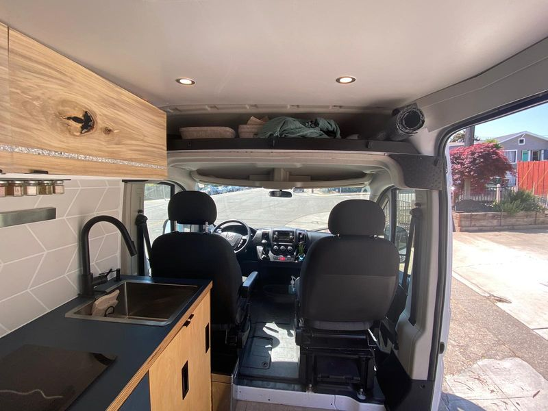 Picture 1/6 of a Promaster 2019 fully loaded off grid unique design glamper for sale in Oakland, California