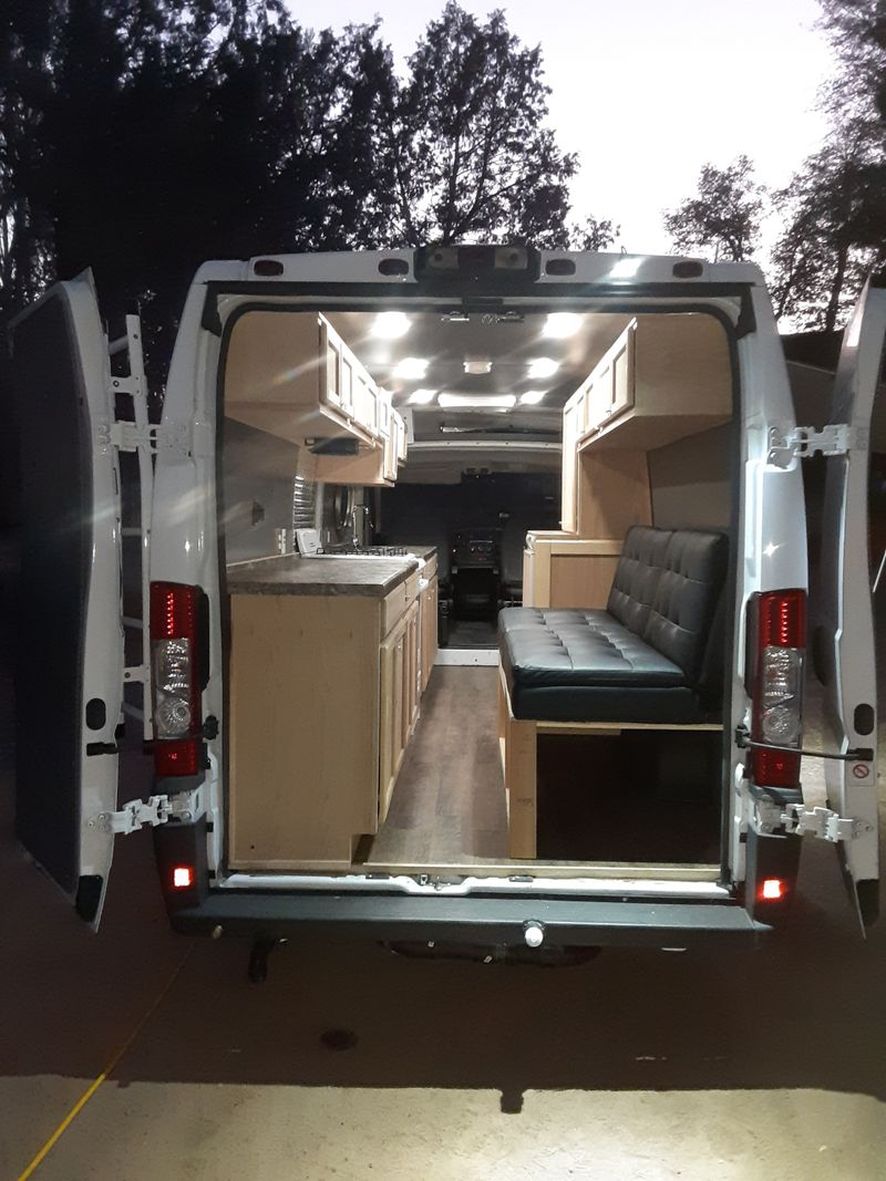 Picture 5/12 of a 2017 Dodge RAM ProMaster High Roof Extended Camper for sale in Mesa, Arizona