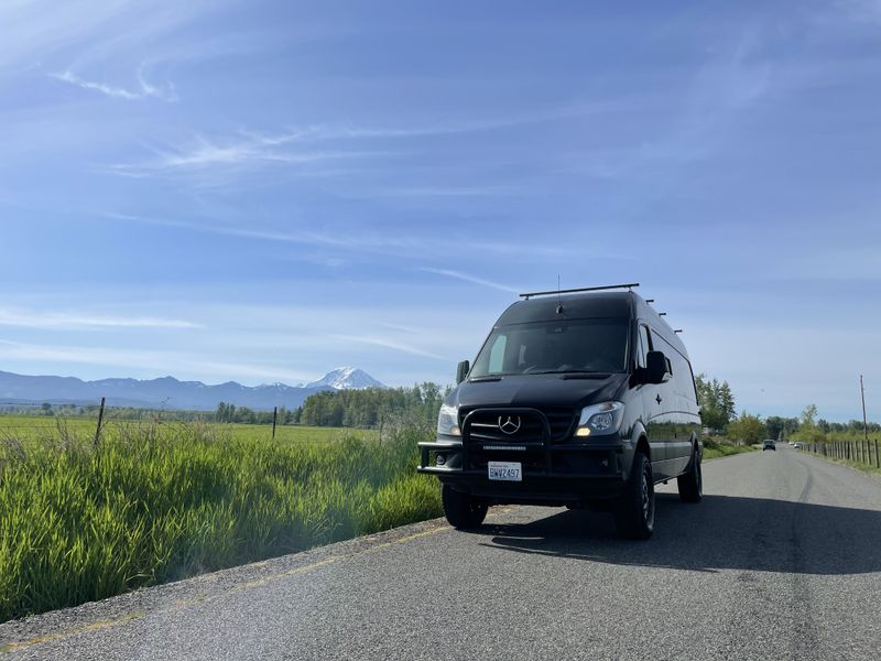 Picture 1/18 of a 2017 Mercedes sprinter 4x4 camper for sale in Seattle, Washington