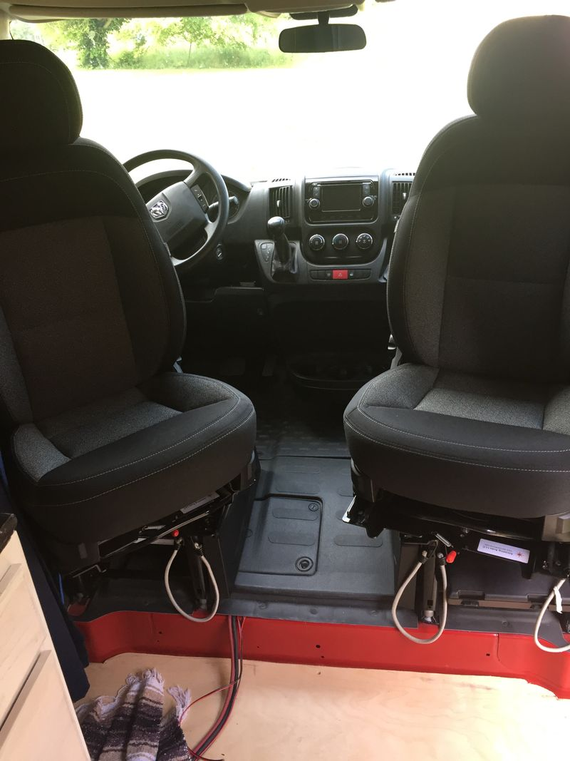 """Picture 2/10 of a 2017 Promaster 1500 Low Roof 136""""WB for sale in Mammoth Cave, Kentucky"""