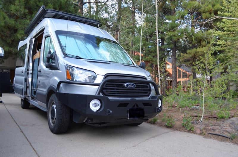 Picture 1/23 of a 2017 Ford Transit 350, High Roof, RWD, Full Build for sale in Flagstaff, Arizona