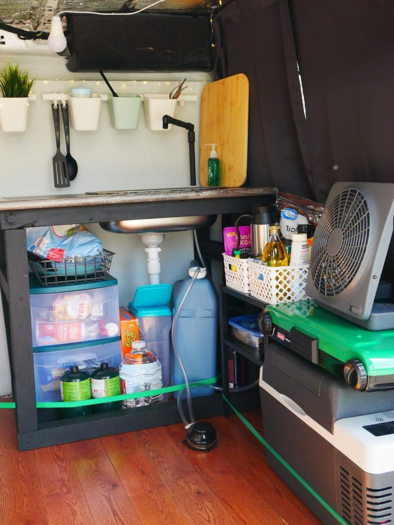 Picture 5/11 of a 2016 Ford Transit Campervan for sale in Los Angeles, California