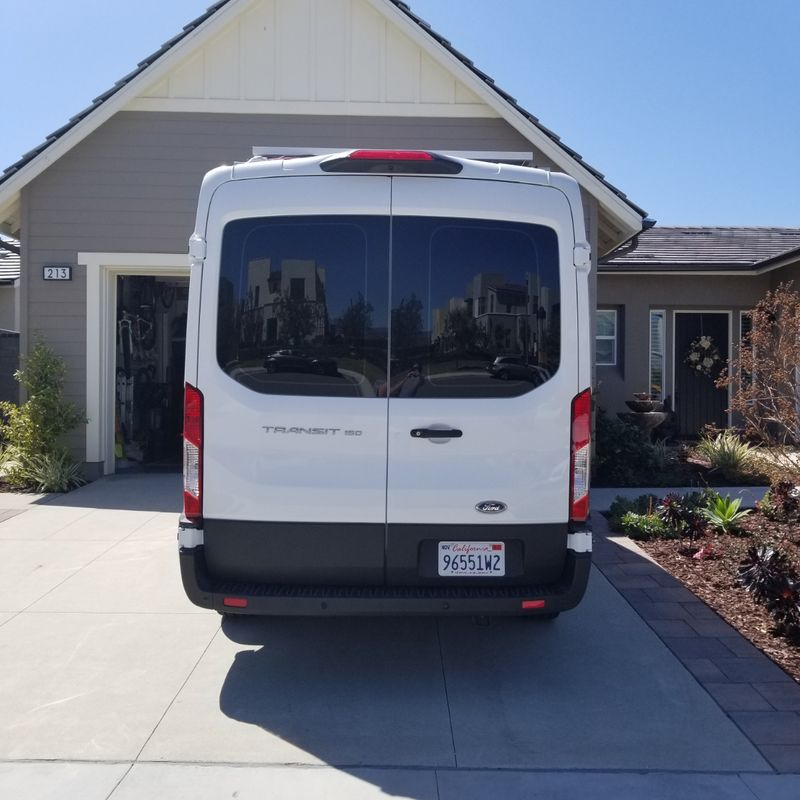 Picture 5/8 of a 2019 Medium Roof Ford Transit 130WB for sale in Big Bear Lake, California