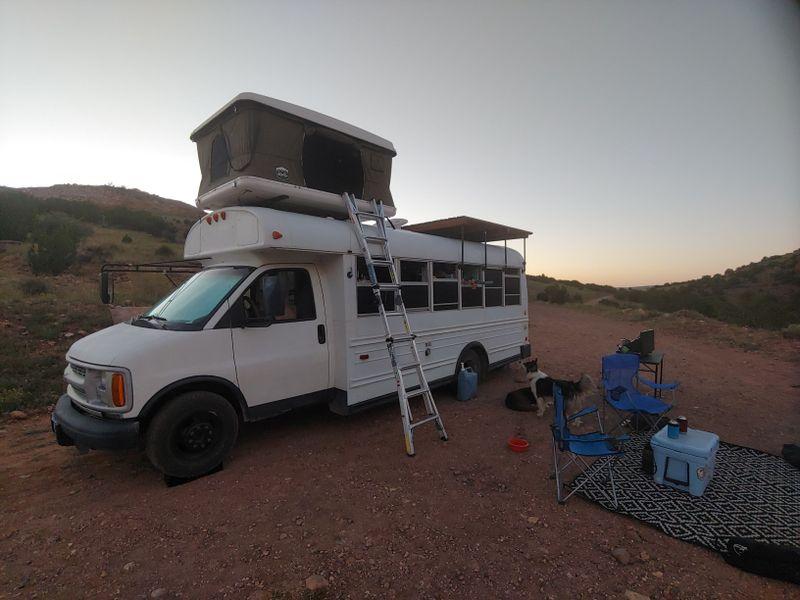 Picture 2/5 of a 2001 Chevy Minibus Conversion, $21k for sale in Alma, Colorado