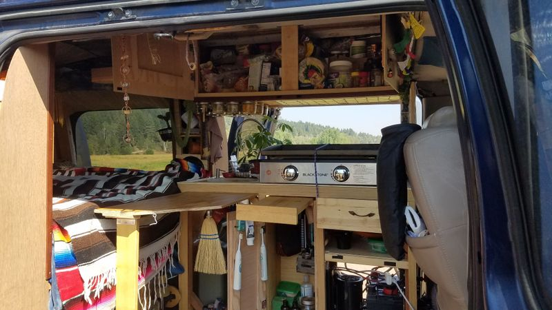 Picture 5/35 of a 03 GMC Savana 1500 Explorer Custom Off Grid Camper for sale in South Portland, Maine