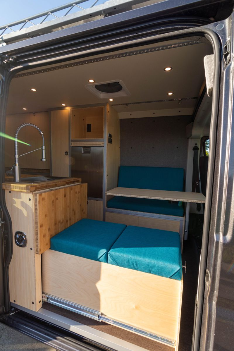 Picture 1/12 of a '21 Promaster Professionally Built Camper for sale in Sunnyvale, California