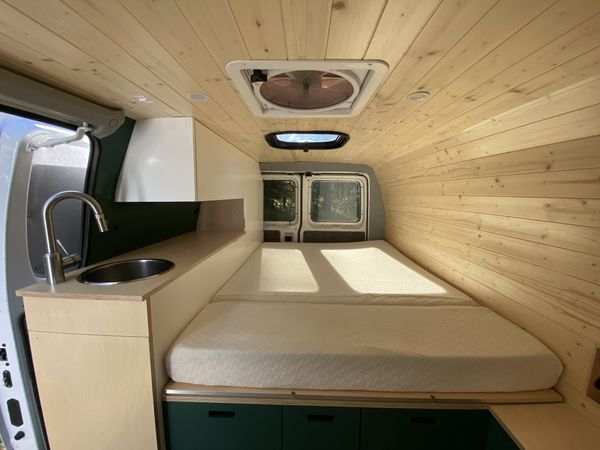 Photo of a campervan for sale: Newly converted camper van - Ford E 150