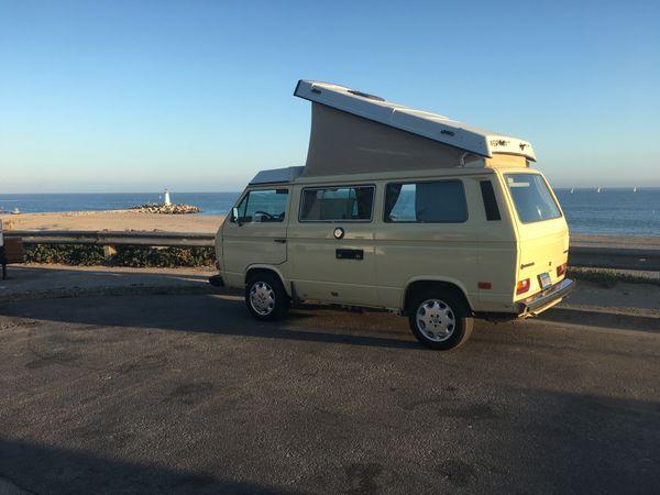Photo of a campervan for sale: (SOLD) 1984 Vanagon Westfalia