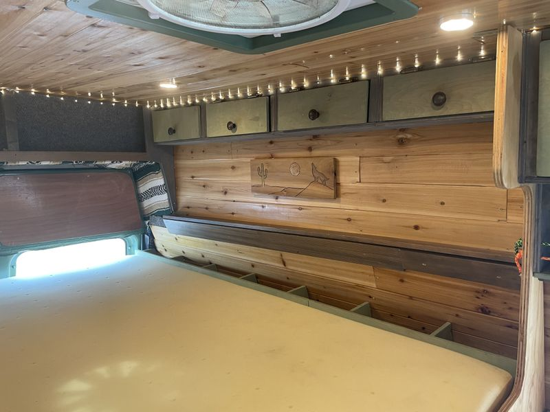 Picture 4/33 of a Fully built campervan, with remanufactured engine  for sale in Steamboat Springs, Colorado