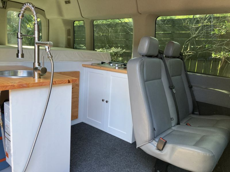 Picture 3/11 of a 2015-2021 Ford Transit modular camper van build for sale in Pearland, Texas